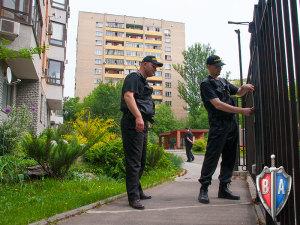 Проверка замком при патрулировании территории ТСЖ