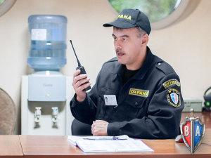 Лицензированный сотрудник охраны ЧОП Вымпел-Альянс