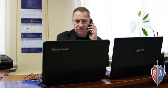 Оперативный дежурный ЧОО Вымпел-Альянс